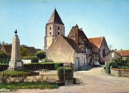 MEZILLES - 89 - Monuments Aux Morts - Eglise - Vieille Maison - 95074 - Autres Communes