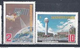 1983 FORMOSE- TAIWAN 1316-17** Satellite - 1945-... République De Chine