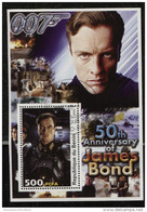 JAMES BOND ,007,Movie On SOUVENIR STAMPS SHEET,CTO USED - Cinema