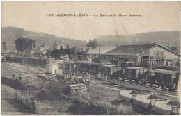 21 – Les Laumes-Alesia – La Gare Et Le Mont Auxois - France