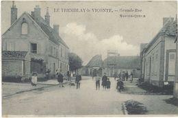28 – Le Tremblay Le Viconte – Grande Rue - France