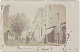 30 – Alais – Carte-photo Rue Commerçante - Alès