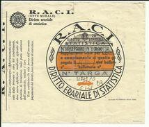 BOLLO TASSA DI CIRCOLAZIONE AUTO (diritto Erariale Di Statistica 1948) ( Fiscali - Marca Da Bollo -revenues ) - Sin Clasificación