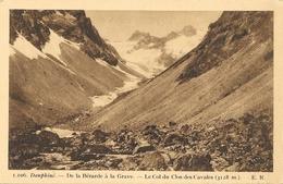 Dauphiné - De La Bérarde à La Grave - Le Col Du Clos Des Cavales - Collection Turc - Carte E.R. Non Circulée - France