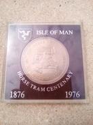 1876/1976 : ISLE DE MAN  - HORSE TRAM CENTENARY - Gran Bretagna