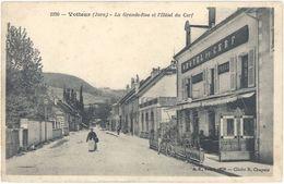 39- Voiteur –  La Grande Rue Et L'Hôtel Du Cerf - France