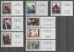 Poland 1968 Mi 1864-1871 MNH PAINTINGS - Unused Stamps