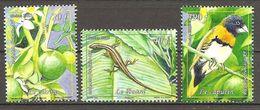 Polynesie Francaise 2013 Flore Faune Flora Fauna Michel No. 1219-21 MNH Postfrisch Neuf - Französisch-Polynesien