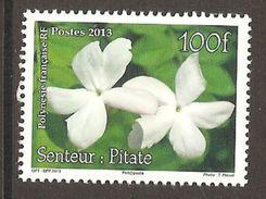 Polynesie Francaise 2013 Fleur Senteur Pitate Jasmin Michel No. 1234 MNH Postfrisch Neuf - Französisch-Polynesien