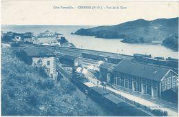66 – Cerbère – Vue De La Gare - Cerbere