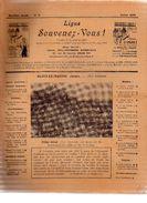 LIGUE SOUVENEZ-VOUS.n°3.septième Année.n°1-2-3-4 Huitième Année.n°1-3 Neuvième Année.n°53 Quatorzième Année.1923-24-25-3 - 1850 - 1899