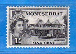 (Mn1) MONSERRAT *-1953- . Yvert. 130. MH. Linguellato  Vedi Descrizione. - Montserrat