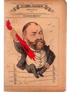 COCHERY.Les Hommes D'aujourd'hui.Dessins De GILL.3e Année.-n°101.(vers 1880) 4 Pages. - Livres, BD, Revues