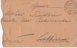 STORIA POSTALE REGNO - ANNULLO FRAZIONARIO - CASTEL RIGONE(PG) 46-42 SU BUSTA CON LETTERA 29.04.1926 - Storia Postale