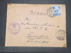 ALLEMAGNE - Enveloppe ( Devant ) De Modlau En 1936 , Affranchissement Plaisant - L 9633 - Allemagne