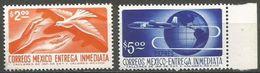 Mexico - 1975 Express Delivery Set Of 2 MNH **  Sc E23-4 - Mexico