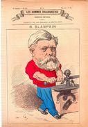 N.BLANPAIN.Les Hommes D'aujourd'hui.Dessins De GILL.3e Année.-n°90.(vers 1880) 4 Pages. - Bücher, Zeitschriften, Comics