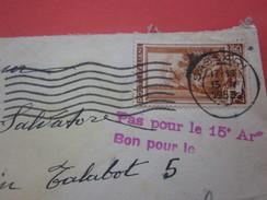 Europe-Italie - 1953.. République - 1946-60-Lettre & Document Marcophilie  Avion-By Air-mail--Marseille - 6. 1946-.. Repubblica