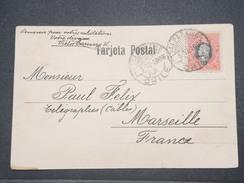CHILI - Oblitération De Valparaiso Sur Carte Postale En 1903 Pour La France - L 9639 - Chili