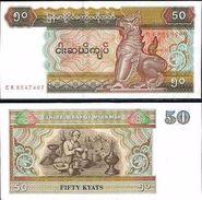 Myanmar - 50 Kyats 1994 UNC - Myanmar