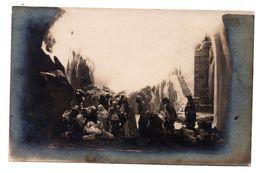 Carte Photo Camp Prisonniers Güstrow La Crèche - Weltkrieg 1914-18