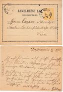 UNGARN 1871 - P 3 B - Enteros Postales