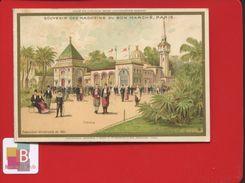 VENTE IMMEDIATE PRIX FIXE Paris Au Bon Marché Boucicaut Chromo Minot  Exposition Universelle De 1889 TUNISIE - Au Bon Marché