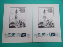 4 CONGRES NATIONAL SCIENCE FICTION LIMOGES 1977 Dessin Aucouret Rare 100 Exemplaires Ici 2 Gare Des Benedictins Limousin - Books, Magazines, Comics