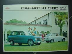 Ancien Dépliant - Automobile DAIHATSU 360 - Publicidad