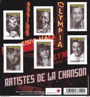 Bloc   ARTISTES DE LA CHANSON - Blocks & Kleinbögen