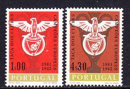 Portugal 1962 Benfica European Champion Football 2v ** Mnh (36534G) - 1910-... República