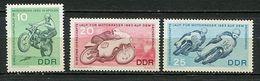 D.D.R. ** N° 678 à 680 - Championnats Du Monde De Motocyclisme - - Unused Stamps