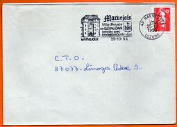 48 MARVEJOLS   VILLE ROYALE EN GEVAUDON 1996 Lettre Entière N° EE 713 - Mechanical Postmarks (Advertisement)