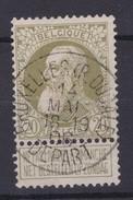 N° 75 Pli  BXL Rue Ducale Depart - 1905 Grosse Barbe