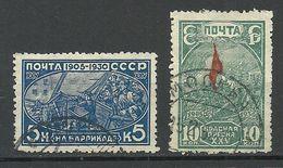 RUSSIA Russland Soviet Union 1930 Michel 395 - 396 A Y (WM Horizontal) O - 1923-1991 USSR
