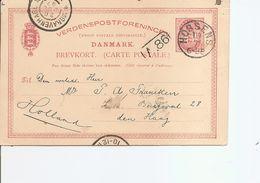Danemark ( EP De 1897 De Horsens Vers Les Pays-Bas à Voir) - 1864-04 (Christian IX)