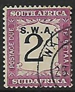 S. W. Africa, 1928,  2d Postage Due Of S.Africa,  Over Printed, Used - South West Africa (1923-1990)