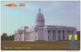SRI LANKA - Town Hall/Colombo, CN : 15SRLA(0 With Barred), Used - Sri Lanka (Ceylon)
