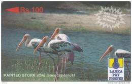 SRI LANKA(GPT) - Painted Stork, CN : 29SRLC, Used - Sri Lanka (Ceylon)