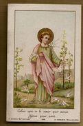 Image Pieuse Holy Card Celui Qui A Le Coeur Pur Aura Jésus Pour Ami Récréations De Jésus - Ed Bonamy 298 - Images Religieuses