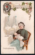 A5322 - Alte Litho Ansichtskarte - 1. WK WW - Vaterländischer Frauen Verein - Rotes Kreuz - Säuglingsfürsorge - Weltkrieg 1914-18