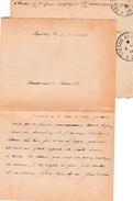 WW1 - Février 1915 - LETTRE DE POILU (2° Génie) Parlant De Ses Préoccupations - Enveloppe Jointe - - Documents Historiques