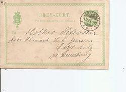 Danemark ( EP De 1893 De Svendborg Vers L'intérieur à Voir) - 1864-04 (Christian IX)