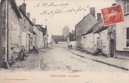 ECHILLEUSES - Grande-Rue - Animé - TBE - Other Municipalities