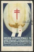 MOSTRA INTERNAZIONALE Di LOTTA CONTRO La TUBERCOLOSI - ROMA - Salute