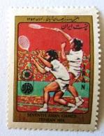 IRAN Badmington, Jeux Asiatiques Teheran 1974. ** MNH - Badminton
