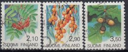 FINLANDIA 1991 Nº 1092/94 USADO - Gebraucht