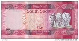SOUTH SUDAN P.  6 5 P 2011 UNC - Sudán Del Sur