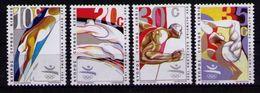 CHIPRE 1992 CYPRUS - BARCELONA OLYMPICS 92 - YVERT  783-786 - MICHEL 783/786 - SCOTT 791/94 - Verano 1992: Barcelona