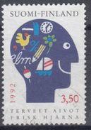 FINLANDIA 1992 Nº 1134 USADO - Gebraucht
